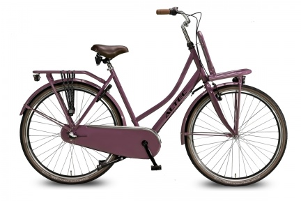 altec-dutch-28inch-transportfiets-n3-dark-rose-57-cm